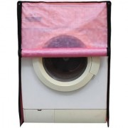 Glassiano Pink Colored Washing Machine Cover For IFB Diva Aqua SX Front Load 6Kg
