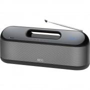 AEG SR 4842 Bluetooth zvučnik aux, fm radio, funkcija govora slobodnih ruku, USB crna, siva