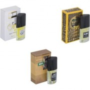 Skyedventures Set of 3 Kabra Yellow-Silent Love-The Boss Perfume