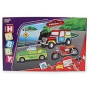 Virgo Toys Hobby Art Jr Vehicles 1- Stencil Art and Craft kit