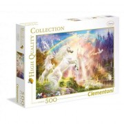 Puzzle Clementoni - Unicorns in the sunrise, 500 piese (35054)