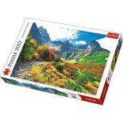 Puzzle Toamna in Muntii Tatra, 500 piese