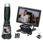 "Wifi baterka s kamerou FULL HD + 7"" LCD Monitor Set"
