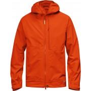 FjallRaven Abisko Eco-Shell Jacket - Flame Orange - Vestes de Pluie M