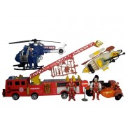 Set jucarii Fire Rescue D122-6