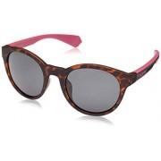 Polaroid Pld6063/g/s Gafas de sol, Unisex Adultos, Havana Fuchs, 52 mm