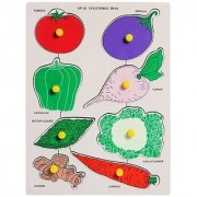 KIDS WOODEN PUZZLE -TYPES OF VEGETABLES