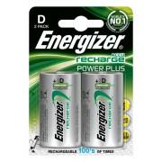 Energizer Akumulator ENERGIZER Power Plus, D, HR20, 1,2V, 2500mAh, 2szt.