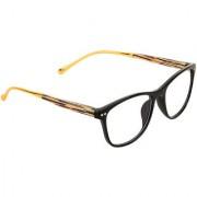 Zyaden Black Rectangle Eyewear frame 353