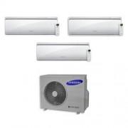Samsung Condizionatore Trial Split Inverter 7000+7000+12000 7+7+12 Btu Maldives Aj052fcj3eh/eu A+