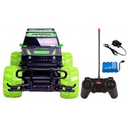 Magicwand 1:20 Scale R/C Rchargeable Jungle Theme Off-Road Monster Racing H2 Hummer (Off-Road Green)