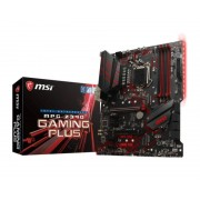 MSI COMPUTER Placa base msi intel z390 gaming plus socket 1151 ddr4x4 max 64gb 4400mhz hdmi dvi-d atx