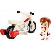 Mattel Toy Story 4. Personaggio Mini Duke Caboom con Moto