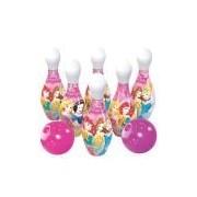 Jogo de Boliche Princesas Lider Brinquedos Rosa