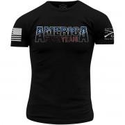 Grunt style America, F * ck Oui 2,0 T-shirt-noir
