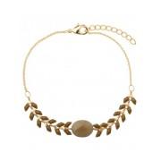 Fashionize Armband Gold Plated Bruin