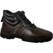 Armstrong Defender Pro Safety Boots For Men(Brown, Black)