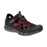 Regatta Mens Samaris Crosstrek Open Cell Walking Shoes - Black - Size: 6