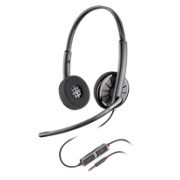 Plantronics Blackwire C225 Binaural Headset, W/ Inline Controls W/ 3.5MM Jack