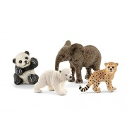 Schleich North America Wild Animal Babies set