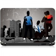 VI Collections THREE GAYS PRINT pvc Laptop Decal 15.6