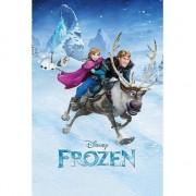 Disney Themafeest poster Frozen 61 x 91,5 cm