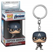 Pop! Keychain Llavero Funko Pop! - Capitán America - Marvel Vengadores: Endgame