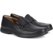 Clarks Uneasley Free Black Leather Slip on For Men(Black, Brown)