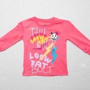 LoowFAT KIDS Thunderbolt Tee Pink