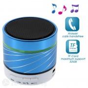 Bluetooth спийкър алуминиев - син