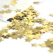 Confetti aurii în formă de steluţe