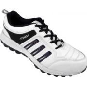 Action White Blue Sport running Shoe -7105 Walking Shoes For Men(White)