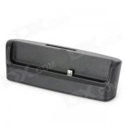 Telefono celular multifuncional + datos de la bateria / muelle de carga con cable USB para Blackberry Z10 - Negro