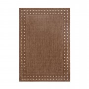 Tapijt Ferrara - bruin - 120x170 cm - Leen Bakker