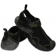 Crocs Sandale Swiftwater Sandal Black/Charcoal 15041-070 46-47