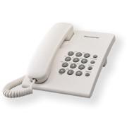 Telefon Analogic cu Fir Panasonic KX-TS500FXW Alb