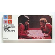 Scrabble Crossword Game for Juniors - Vintage Edition Four - No. 18 - from 1975
