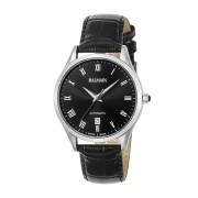 【64%OFF】型押しレザーベルト デイト ラウンドウォッチ メンズ フェイス:ブラック ベルト:ブラック ファッション > 腕時計~~メンズ 腕時計