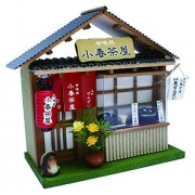 Billy handmade doll house kit corner of the shop kit Japanese style series Zenzai shop 8771
