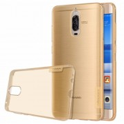 NILLKIN Nature TPU Case Huawei Mate 9 Pro Stylish 0.6mm Ultrathin Clear Color Soft Protective Case Back Cover (Gold)
