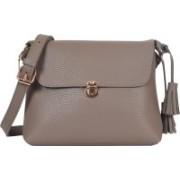 Lino Perros LWSL00226OLIVE Grey Sling Bag