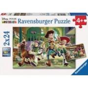 PUZZLE POVESTEA JUCARIILOR 2x24 PIESE Ravensburger