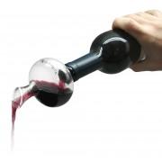 Сет стъклен мини декантер и вакуум помпа Vin Bouquet