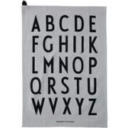 Design Letters Classic Kökshandduk 2-pack Grå