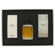 Vera Wang Eau DeToilette Spray + Hair & Body Wash + After Shave Balm Gift Set Men's Fragrance 456153