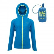 Водоотблъскващо яке Mac in a Sac Ultra Blue