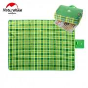 Naturhike-nh plegable 2-persona refugio de camping / estera - verde
