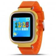 Resigilat! Ceas GPS Copii iUni Kid90, Telefon incorporat, Buton SOS, BT, LCD 1.44 Inch, Portocaliu