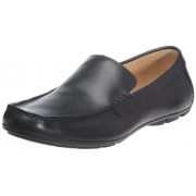 Clarks Malta Coast Genuine Leather Slip On Shoes (Black)