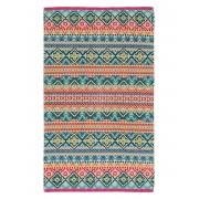PiP Studio - ekskluzywne pościele PiP Studio ekskluzywne pościele Velký plážový ručník, stylova osuška na koupání, 100% bavlněný velur aztécké, exotické vrozy, PiP Studio